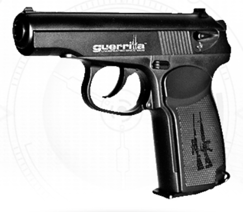 GUERRILLA GANGSTER | 4.5mm BB | CO2 | CO2 BB Gas Gun MAKAROV PM