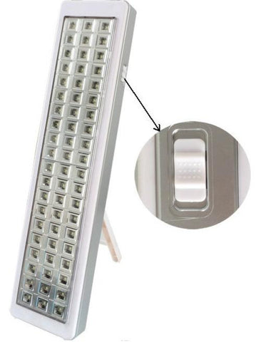 LED EMERGENCY LIGHT | 60LED | RECHARGEABLE WITH STAND & CHARGER