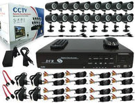 16 Channel 16 Camera Security Recording System With Internet and 3G Phone Viewing - Security and More