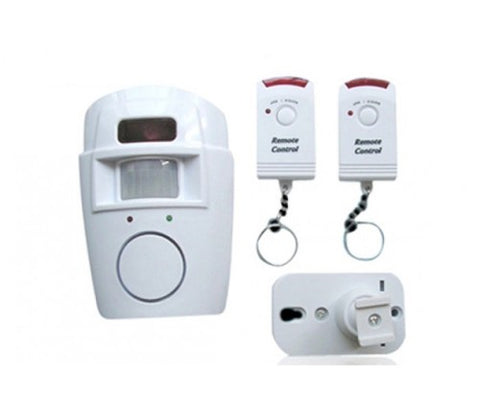 Wireless sensor alarm- instantly doubles security !