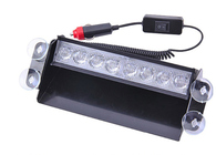 White Led Dashboard Strobe | Plugs Into Car Lighter