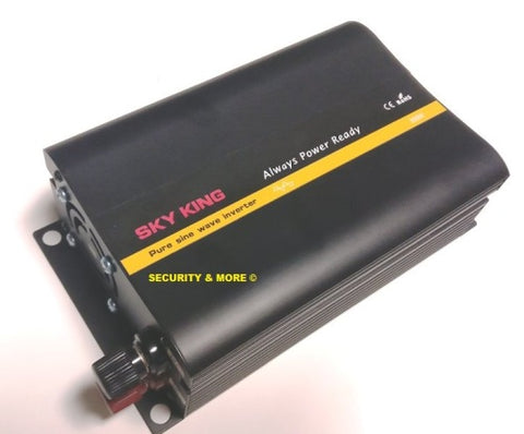 Sky King - 300W PURE SINE WAVE INVERTER | 12V DC TO 220V AC| 600W PEAK