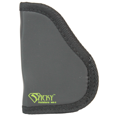 Sticky Holster Md-2 Small 9mm's With Laser And Wider Guns Up To 3. 3'' Barrel