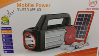 Mobile Solar Lighting Kit With Fm Radio | Torch | Usb Ports | Light Bulbs