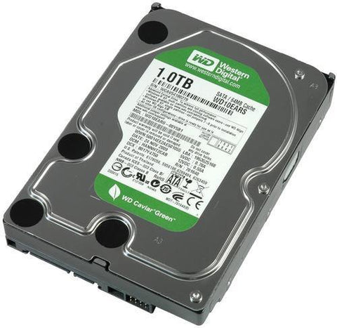 1tb Hard Drive Western Digital / Seagate - Security and More