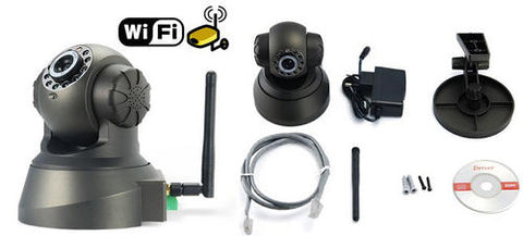 IP Camera Wireless Security Camera Night vision, Motion detection, WiFi, Audio