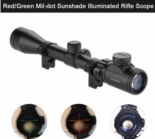 3-9 x 40EG Rifle Scope for .22 and .177 caliber rifles - Security and More