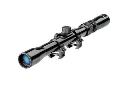 4 X 20 Rifle Scope for .22 and .177 caliber rifles | 11mm Mount - Security and More