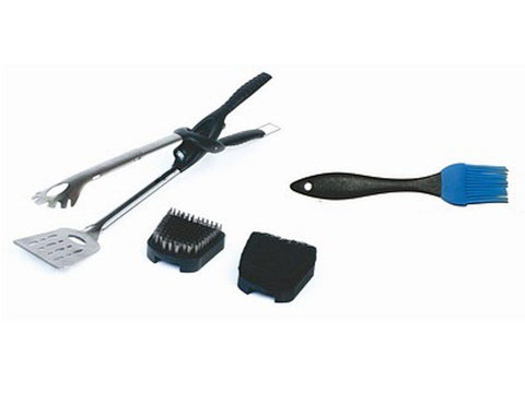 Tonglite 2 Kit with Stainless Steel Scouring & Basting Brushes