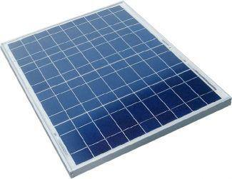 50W Monocrystalline Solar Panel 540X670X30mm - Security and More