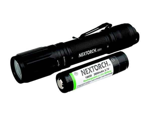 Nextorch E51 1000L Compact Direct Charging 18650 Rechargeable Flashlight