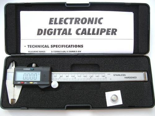"6"" Digital Caliper Vernier Gauge Micrometer - Security and More"