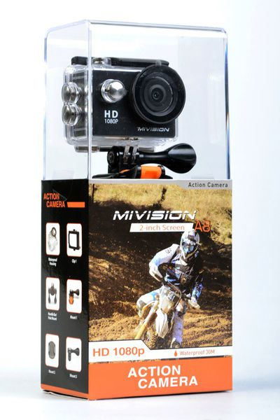 Mivision A8 HD 720P Action Camera