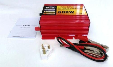 600w Modified Sine Wave Inverter | 12v Dc To 220v Ac Inverter | With Usb Port - Security and More