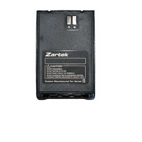 Zartek ZA-748 Spare direct plug-in rechargeable Li- ion battery pack 3.7V 1250mAH