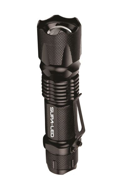 Supa LED Bobcat 3W Led Tactical Flashlight With Clip