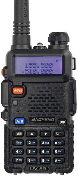 Baofeng UV-5R (Both VHF & UHF) Two Way Radio - Security and More