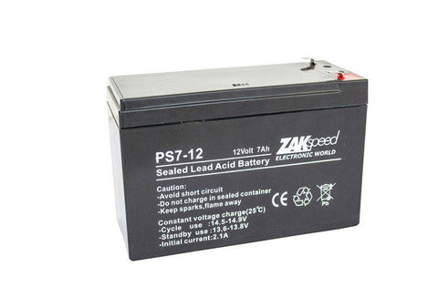 Battery 12V 7MAH Rechargeable | Lead Acid - Security and More
