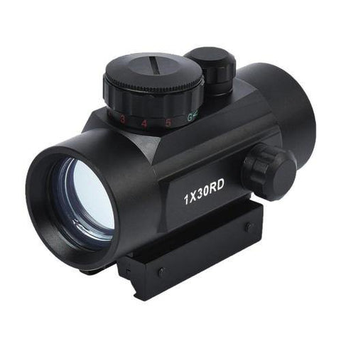 Beileshi RD1X30 Red Dot Sight | Scope Holographic Optics Scope (Fits Picatinny or 11mm Rails) - Security and More