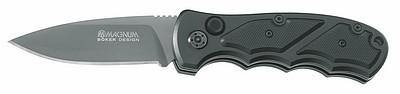 Boker Magnum Blitz Plain Folding Knife - Security and More