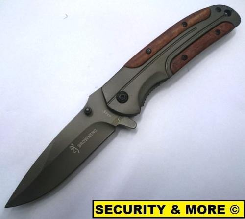 Browning Pocket Knife - Security and More