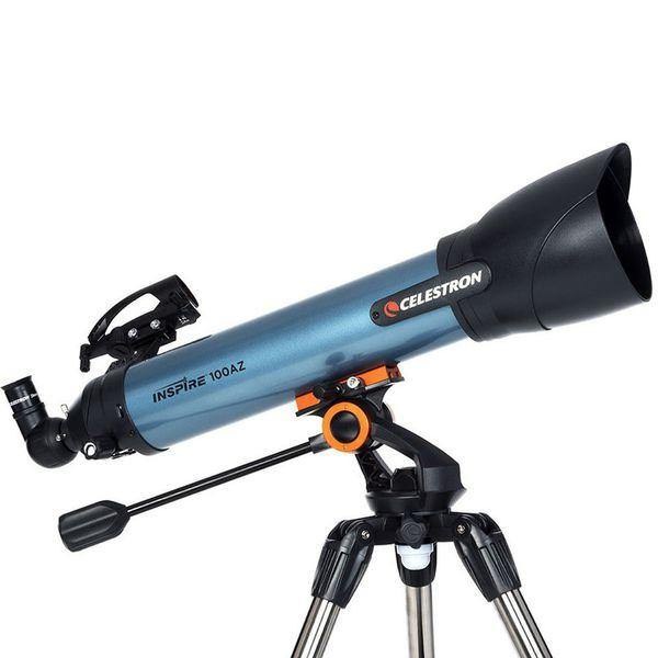 Celestron Inspire 100AZ Telescope - Security and More