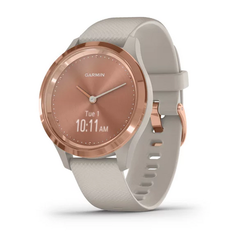 Garmin Vivomove 3S Sport Light Sand Silicone with Rose Gold HW