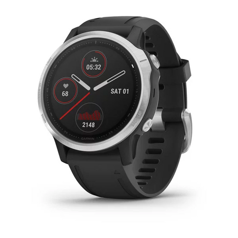 Garmin fenix 6S Silver w/Black band