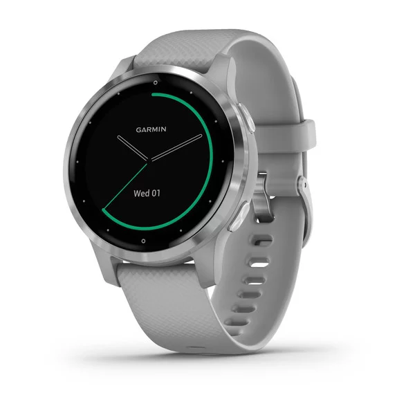 Garmin vivoactive 4S Powder Grey/Silver
