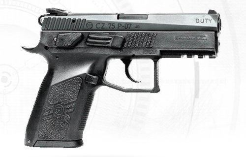 CZ P07 DUTY BLOWBACK | CO2 GAS GUN | 4.5mm BB | CO2 BB Gas Gun - Security and More