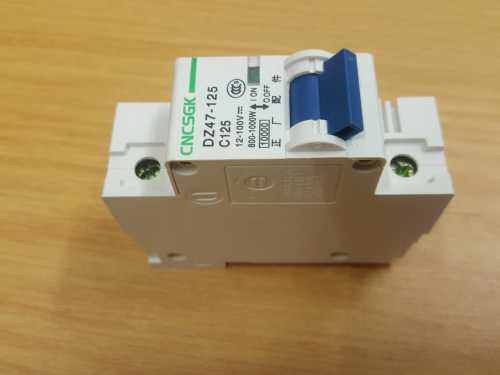 Dc Circuit Breaker 125a |12-100v Dc | 800-1000w | Solar Circuit Breaker - Security and More