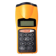 Digital Ultrasonic and Laser Point Distance Measure - Security and More