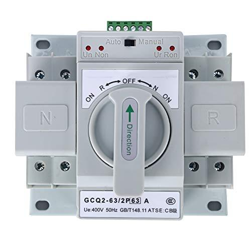 Dual Power Automatic transfer switch ATS - Security and More
