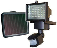 Free Standing Solar Motion Detection Flood Light With Solar Panel | Internal Battery | 850 Lumen - Security and More