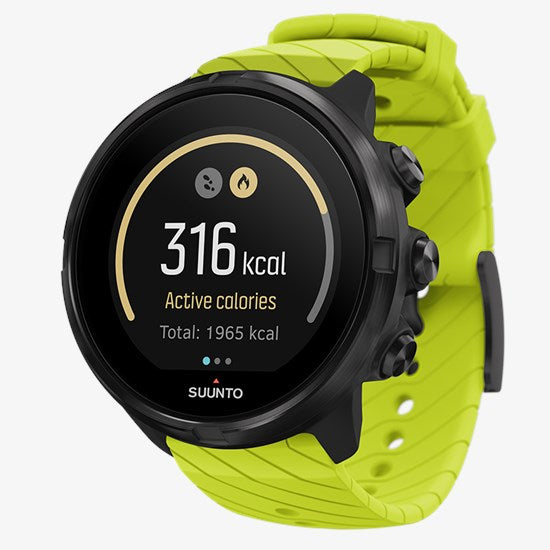 Suunto 9 G1 Black / Lime Strap
