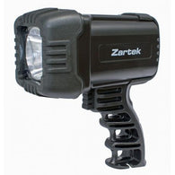 Zartek Spotlight, LED, 500lm, Rechargeable, mains & vehicle charger