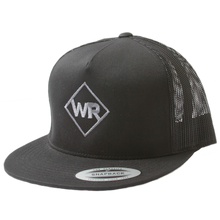 WR Black Snapback Trucker Hat