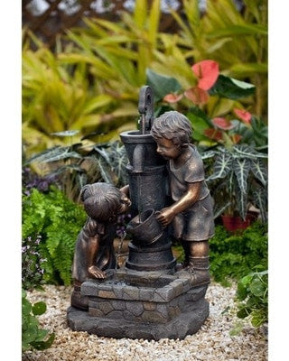 Jeco Water Pump and Kids Water Fountain with LED light - Fountain - DynamicWaterFeatures
