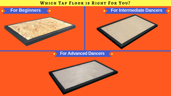 Not sure which portable tap dance floor is right for you? Don't fret! You're not alone.