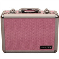Double Handgun Hard Case Pink