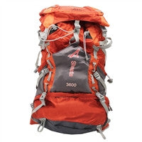 roomy backpack with hydration compartment