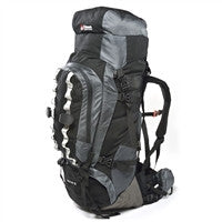 Large black backpack with lots of room or space
