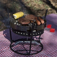 3 piece camp fire grill