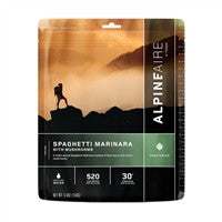 Backpacking Freeze Dried Spaghetti