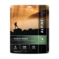 Backpacking Freeze Dried meals Pasta Roma
