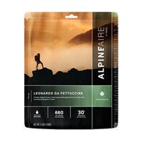 Backpacking Freeze Dried meals Leonardo da Fettuccine