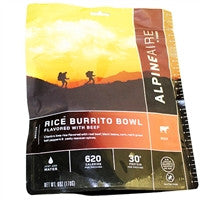 Backpacking Freeze Dried meals Pepper Beef w/Rice