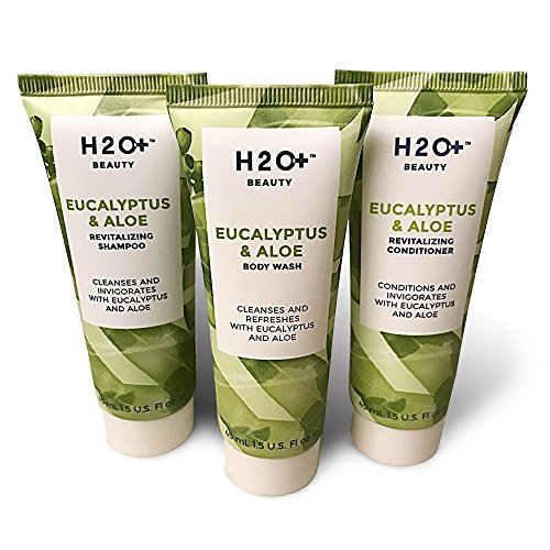 H2O Spa Line BNB Amenity Bath & Body Sets - Soap, Shampoo, Conditioner Combo