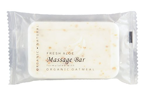 Terra Botanics Organic Oatmeal Massage Bar Bnb Amenity & Travel Sets - Soap Bar (Set)