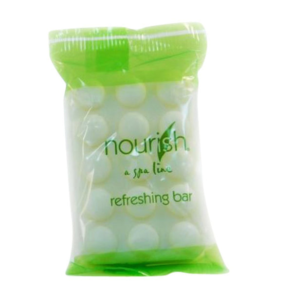 Nourish Spa Green Tea Bath & Shower Soaps Individually Wrapped